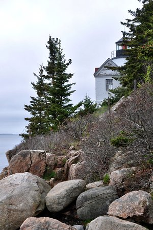Bass Harbor Head Light - Trail On Left - Couldn't Get My Shot!
