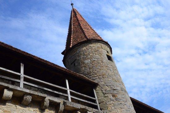 Hotel Rappen Rothenburg ob der Tauber: Old Rothenburg City Wall