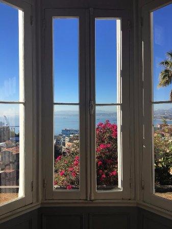 Zerohotel: La vista desde la habitación! The view from the room!