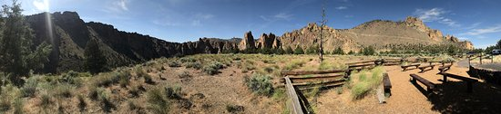 Smith Rock State Park: Smith Rock Amphitheater Area Pano Picture 2 of 2 June 2017