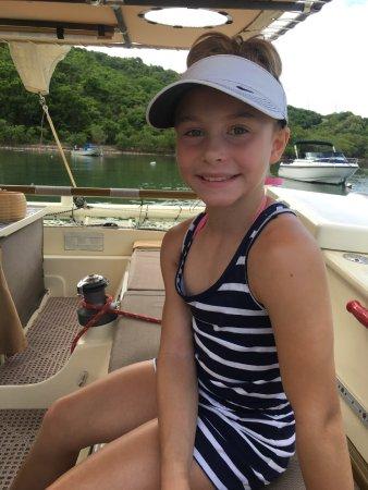 Coral Bay, Сент-Джонс: All smiles on deck!!