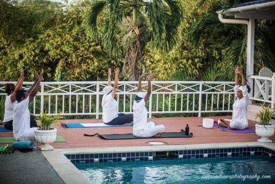 Bon Accord, Tobago: Thou Art Yoga weekend retreat (June 2017) Photo: