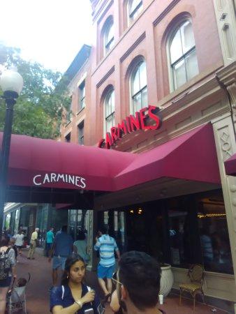 Almoço em Washington DC