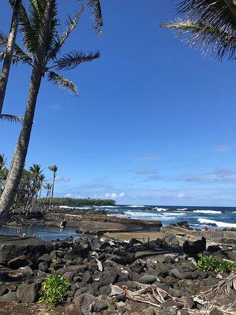 Pahoa, Hawaje: Ocean inlet