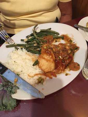 Port Saint Lucie, FL: Teriyaki Chicken, Jasmine Rice, String Bean Almondine
