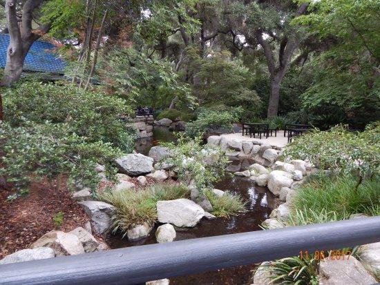 La Canada Flintridge, Kalifornien: Garden area