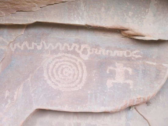 Springdale, Γιούτα: Cool petroglyph canyon recommended to us by employees at Zion Outfitter.