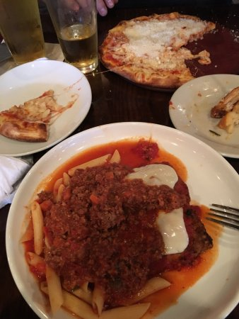 Summerfield, FL: Egg plant rollatini with meat sauce