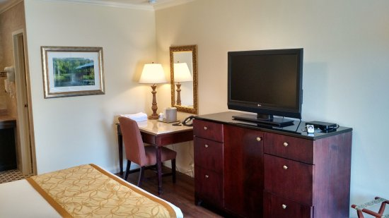 Townsend Gateway Inn: Single Queen room in Poolside building