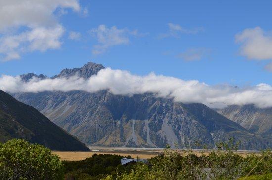 Mt. Cook Village, Nuova Zelanda: Mist