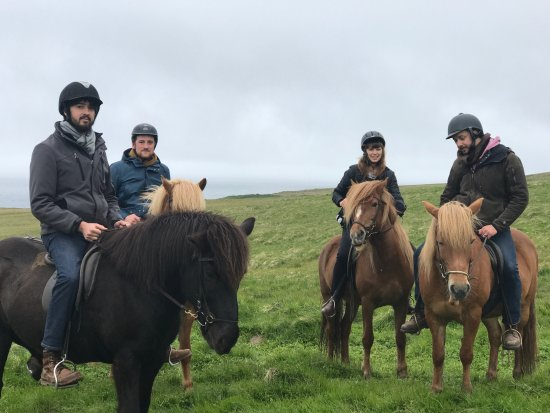 Fjallahestar: Halfway through our trip