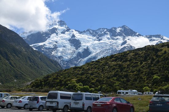 Mt. Cook Village, New Zealand: View