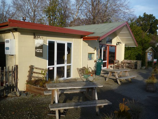 Geraldine, New Zealand: peel forest cafe/bar