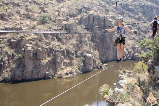 Aguascalientes, Mexico: Wonderful views, thrilling bridges and ziplines