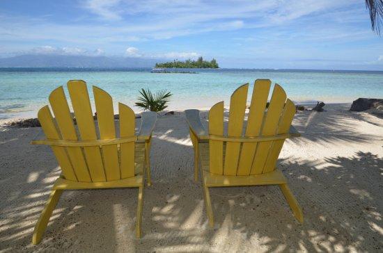 Afareaitu, French Polynesia: View to Tahetihui