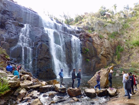 Hamilton, Australien: Base of McKenzie Falls