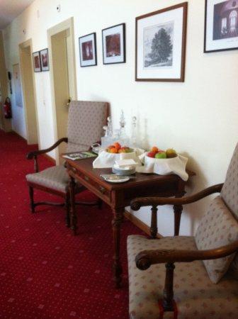 Le Prese, Schweiz: Fresh fruit bowls through out the hotel