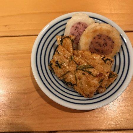 Ono, Japan: 無料で食べれるおかき
