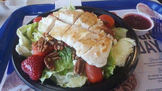 Culver's: HUGH Chicken Salad!  😊