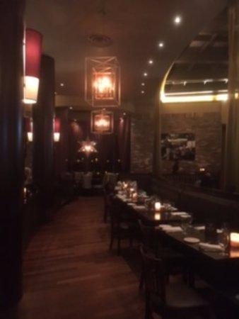 Inside of restaurant picture of city cellar wine bar grill westbury tripadvisor - City cellar wine bar grill ...