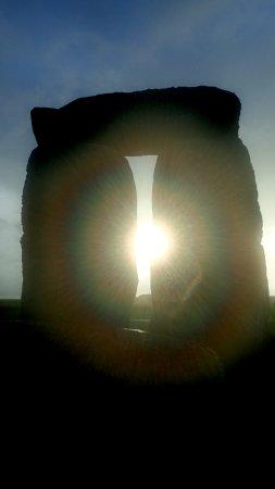 Salisbury & Stonehenge Guided Tours : Sunset through a trilithon