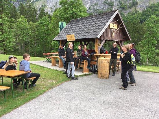 Hinterstoder, Austria: Almgasthof Baumschlagerreith