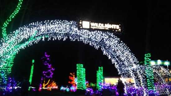 Foyer Entry Zoo : Entryway to zoolights wpz picture of woodland park zoo