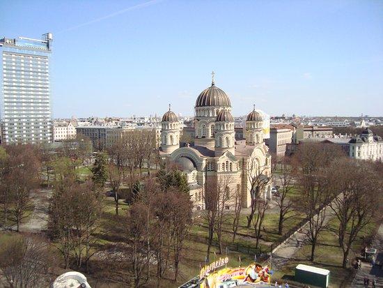 Riga Region, Latvia: Russian Orthodox Christmas Cathedral of Riga, Latvia