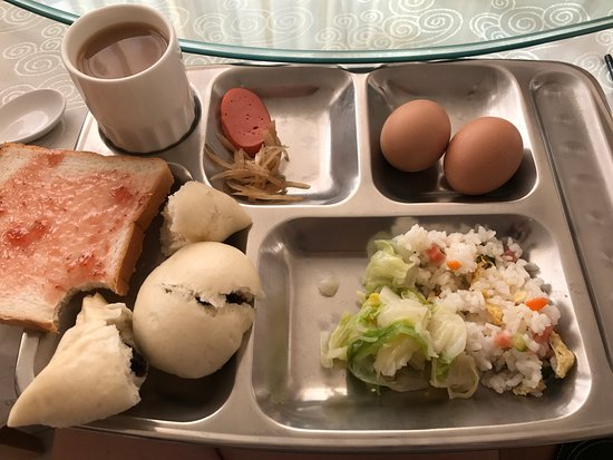 Chengde County, Chine : Breakfast