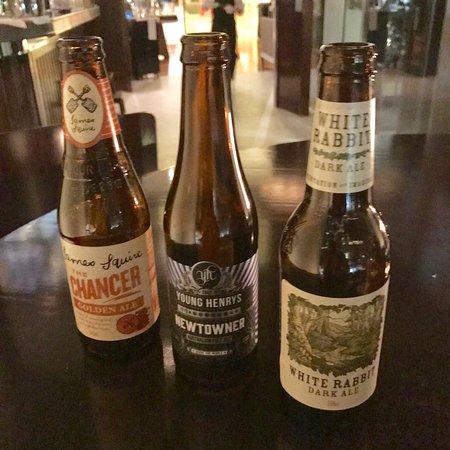 Glass Brasserie: AUS craft beers
