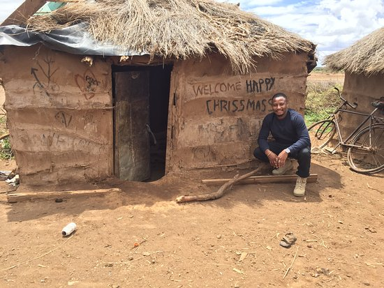 "Ujamaa Hostel: Maasai village ""trying to get ready for xmass"""