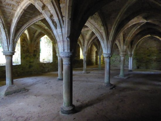 Battle, UK: Cloisters
