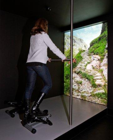 Schwyz, Schweiz: Mit dem Stepper über den Splügenpass