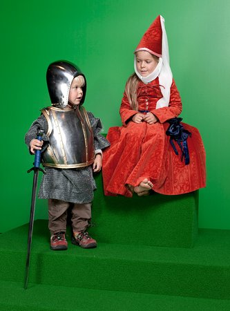 Schwyz, Switzerland: Sich als Ritter oder Burgdame verkleiden und fotografieren