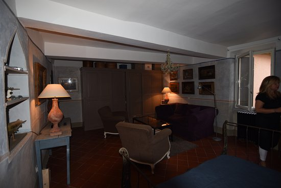 Ortaffa, فرنسا: Sala de estar