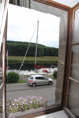 Port-Launay, France: vue de la chambre