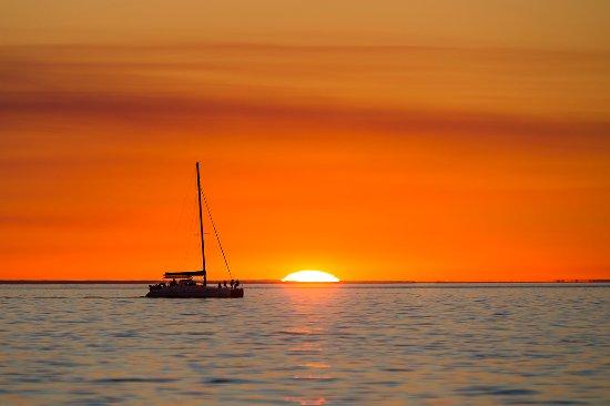 Fraser Island, Australia: Sailing the Great Sandy Strait.