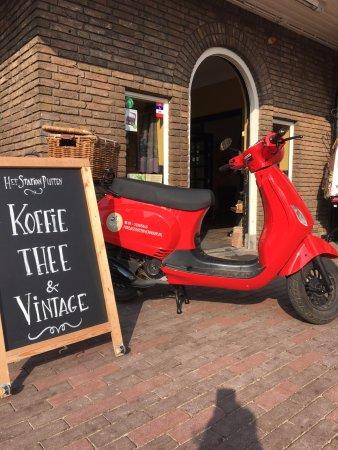 Startlocatie Koffihuis het Station in Putten