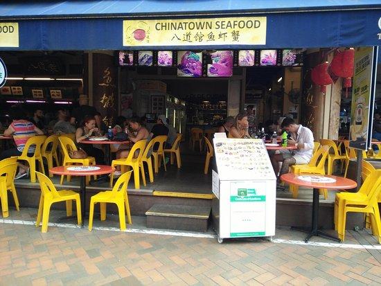 Tampak depan Chinatown seafood
