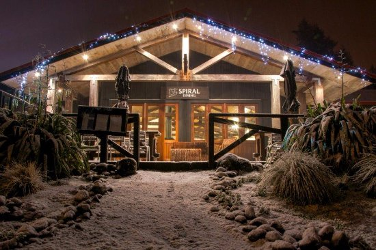 The Spiral Restaurant & Bar: Winter Warmer's on offer after a day up the mountain