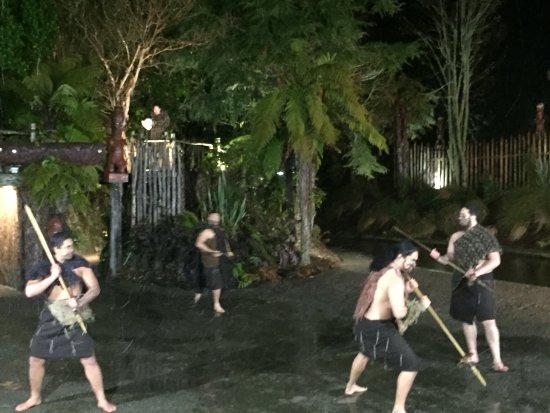 Tour Zealand Tours: Tamaki Maori village, Rotorua