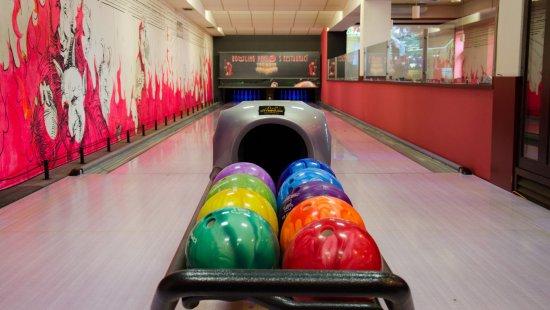 Litomysl, Tjeckien: Dvě bowlingové dráhy.