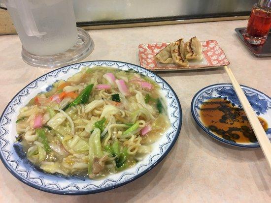Omura, ญี่ปุ่น: ミニ皿うどん