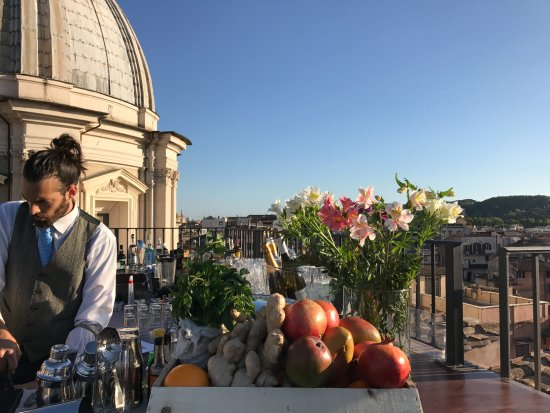 Cocktail Picture Of Terrazza Borromini Rome Tripadvisor