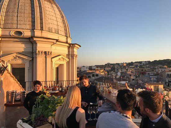 Bar Picture Of Terrazza Borromini Rome Tripadvisor