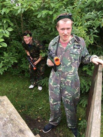 Battlefield Leeds: Taking a quick rest