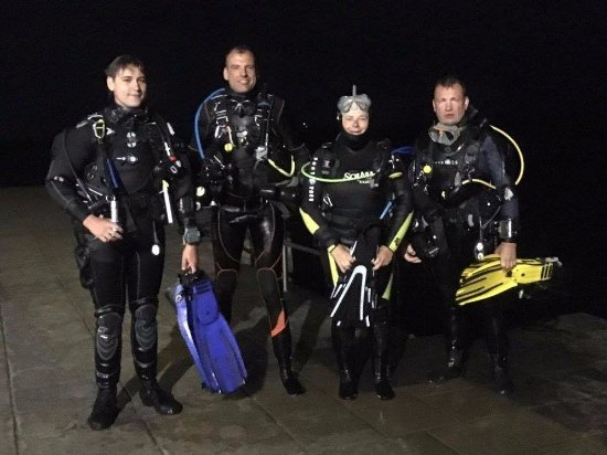 Aquasport Diving: Plongée de nuit