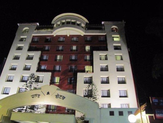 Grand Hotel Kathmandu: Front View