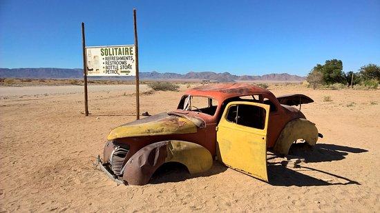 Solitaire, Namibia: stazione di servizio nel deserto