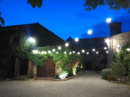 San Lorenzo della Rabatta: Cena tranquilla tra i colli umbri